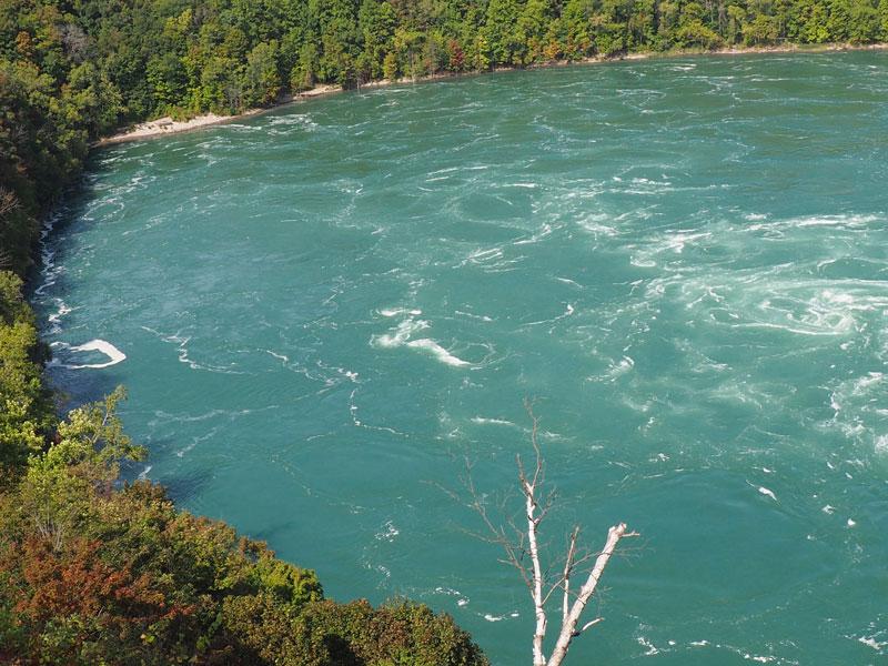 "Bild 4 Blick auf den ""Niagara Whirlpool"""
