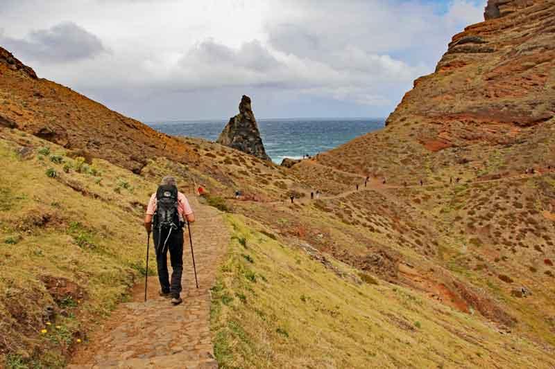 """Bild 4 Auf dem Weg zur östlichsten Spitze von Madeira dem """"Ponta de Sao Laurenco"""""""