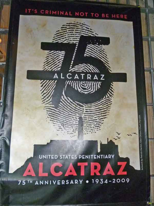 Bild 22 Plakat auf Alcatraz