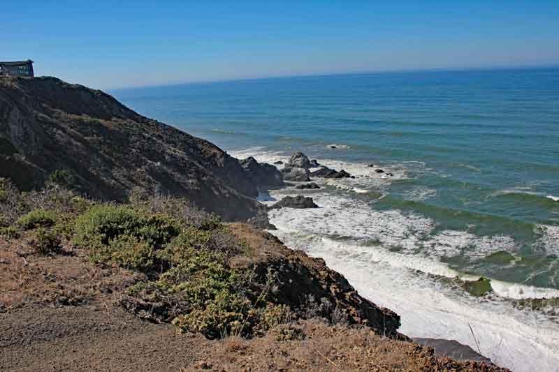 Bild 25 Wanderung an der Steilküste am Pazific
