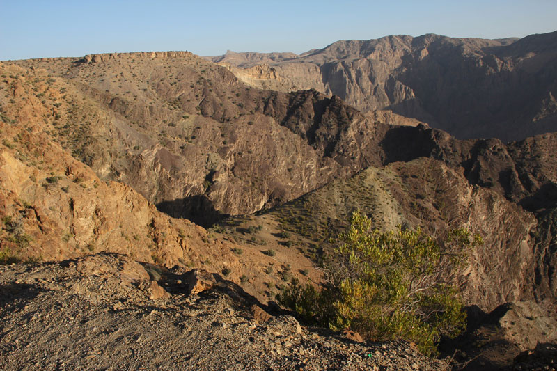 Bild 17 Berge des Al Jabal Al Akhdar
