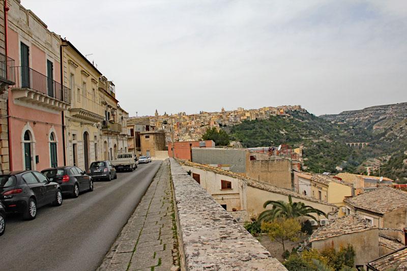 Unterwegs in der Altstadt von Ragusa
