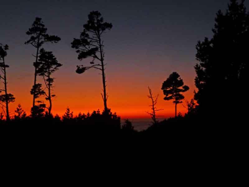 Bild 31 Sonnenuntergang am Gerstle Cove CG