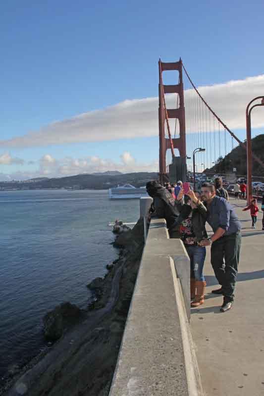 Bild 63 Auf der Golden Gate Brücke