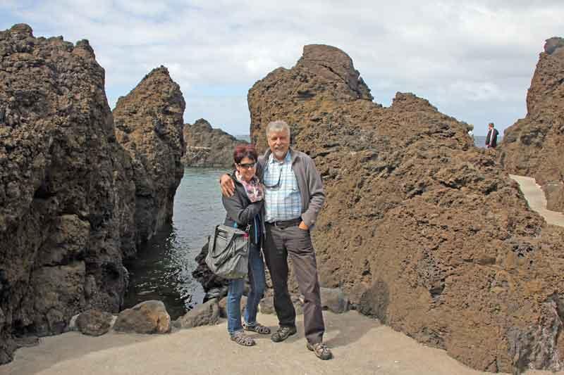 Bild 31 An der Felsenküste von Porto Moniz