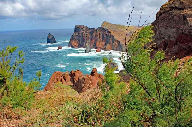 """Bild 6 Auf dem Weg zur östlichsten Spitze von Madeira dem """"Ponta de Sao Laurenco"""""""