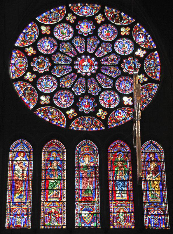 Bild 8 Kathedrale von innen in Chartres