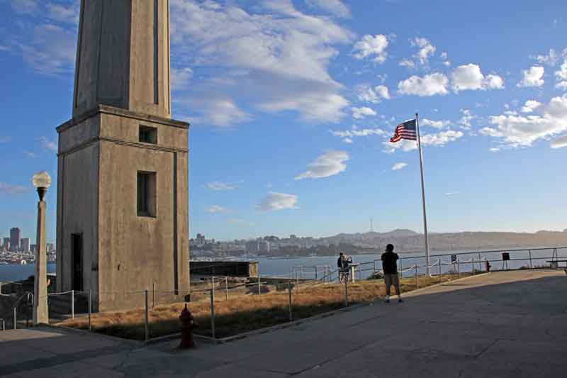 Bild 33 Außenbereich in Alcatraz