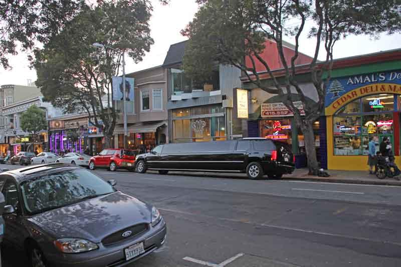 Bild 70 Läden in der Haight Street
