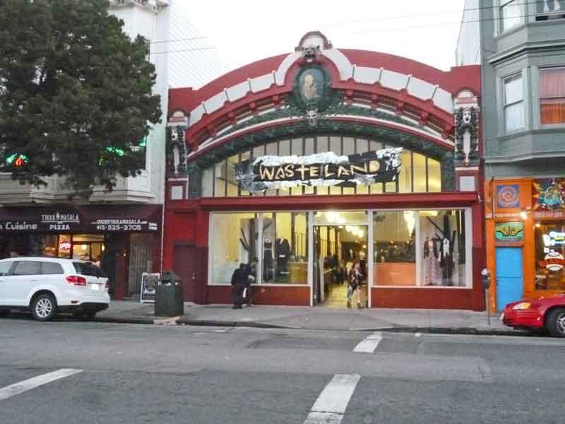 Bild 68 Läden in der Haight Street