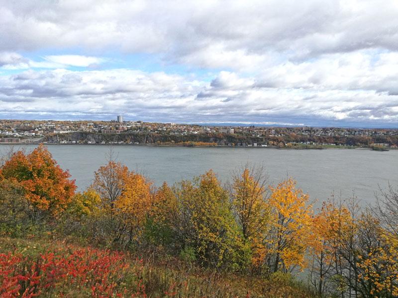 Bild 55 Bummel durch Quebec, Blick auf den St. Lorenz