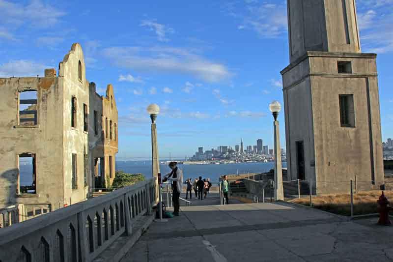 Bild 32 Außenbereich in Alcatraz