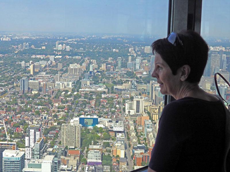 Bild 31 Blick vom CN Tower
