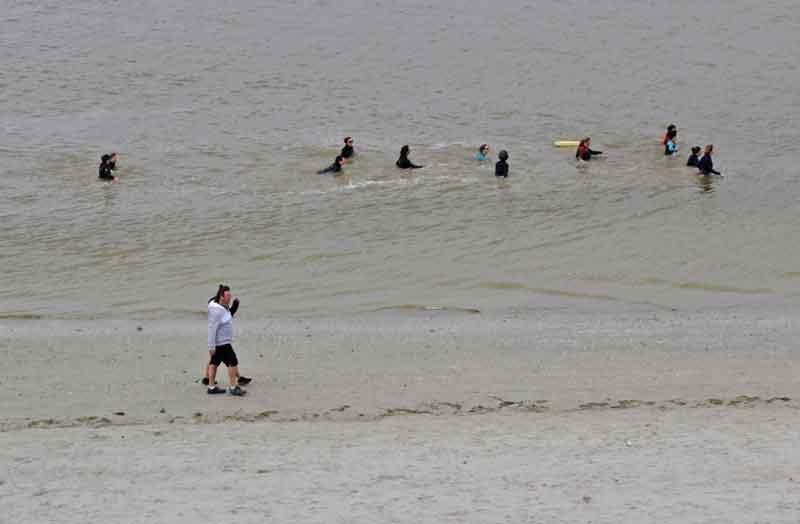 Bild 8 Der Strand von Le Crotoy