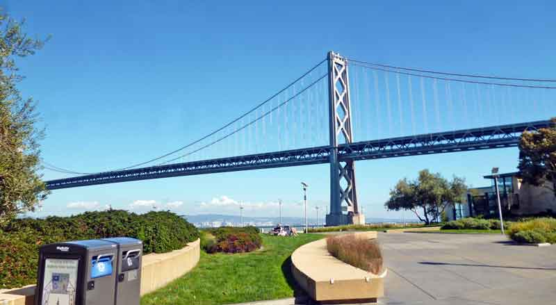 Bild 3 Fahrt nach San Francisco am Morgen