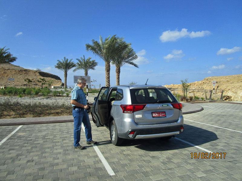 An der Steilküste in Ras al Hamra
