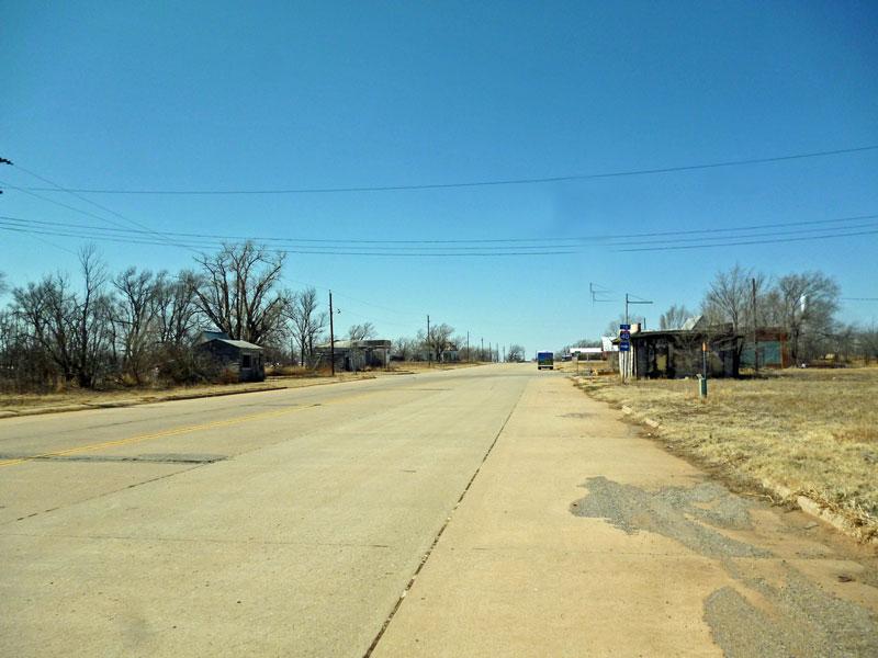 """Bild 5 Auf der """"Historic Route 66"""""""