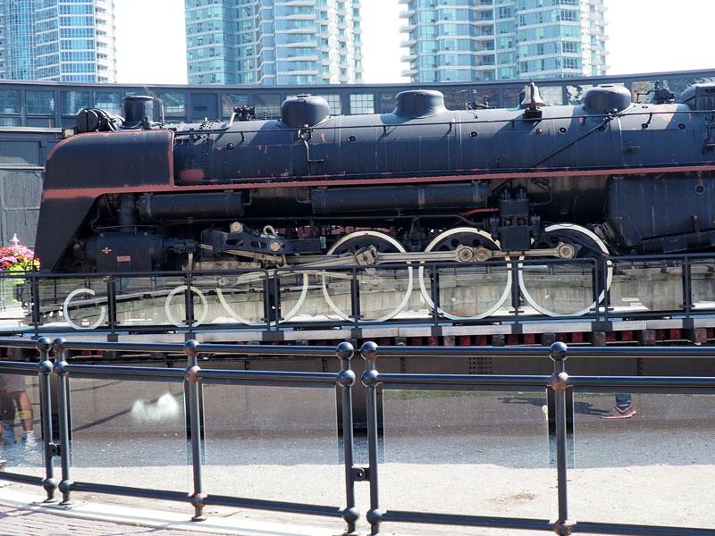 Bild 47 Eisenbahnmuseum neben dem CN Tower