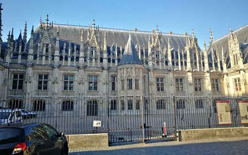 Bild 27 Bummel durch die Altstadt von Rouen