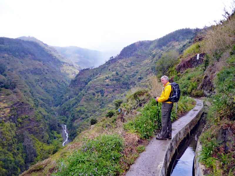 Bild 10 Wanderung auf der Levada Mohino und zurück auf der Levada Nova