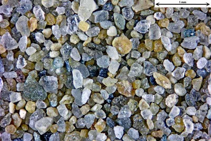 Bild 3 Sand vom Badestrand bei Rimini Italien