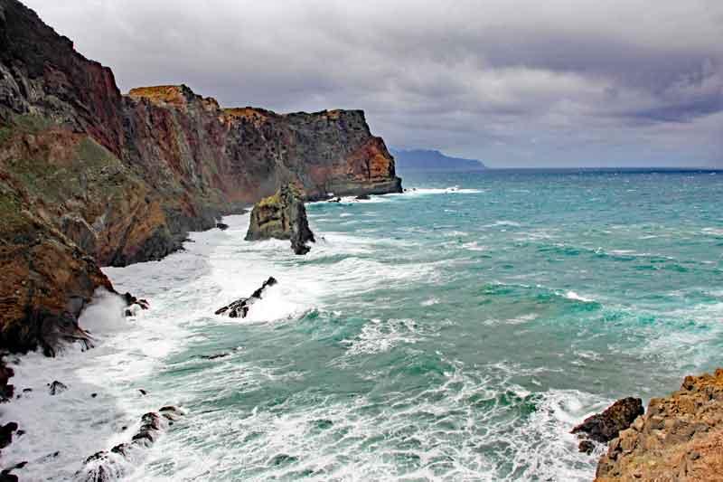 """Bild 8 Auf dem Weg zur östlichsten Spitze von Madeira dem """"Ponta de Sao Laurenco"""""""