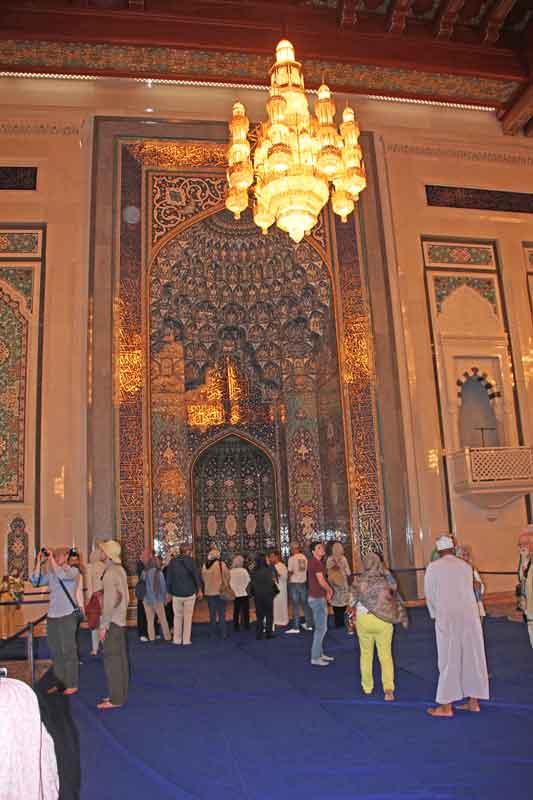 Bild 11 In der Sultan Qaboos Moschee