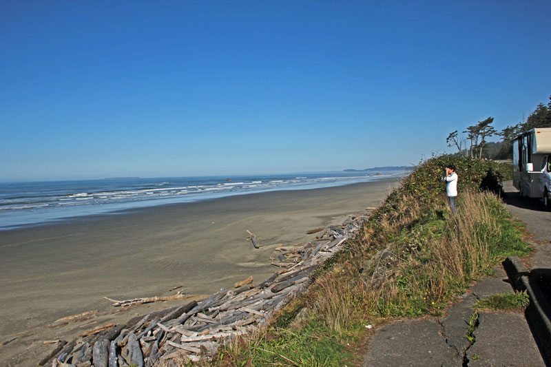 Bild 3 An der Küste unterwegs zum Quinnolt National Park