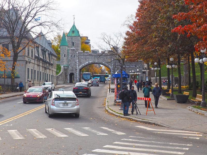 Bild 34 Bummel durch Quebec