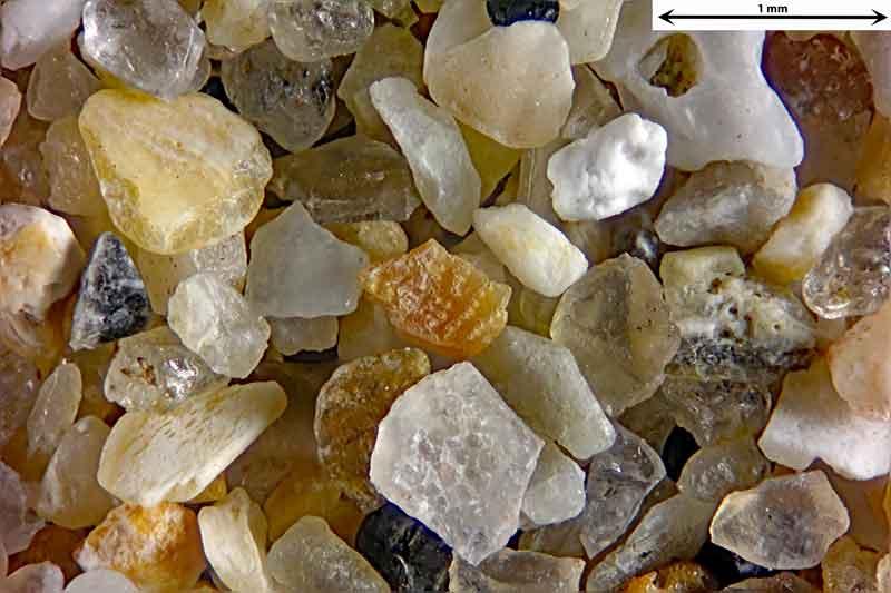Bild 2 Sand aus Le Treport/Frankreich