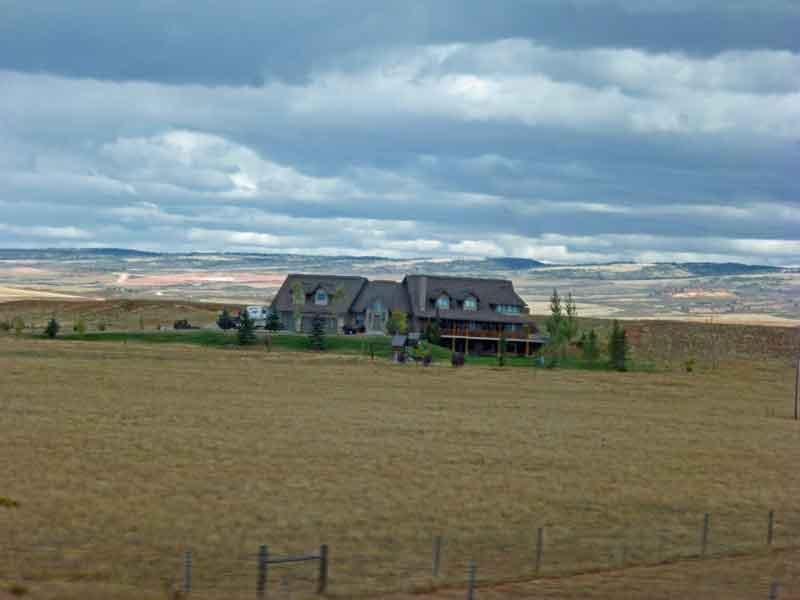 Bild 5 Ranch irgendwo zwischen Fort Collins und Laramie