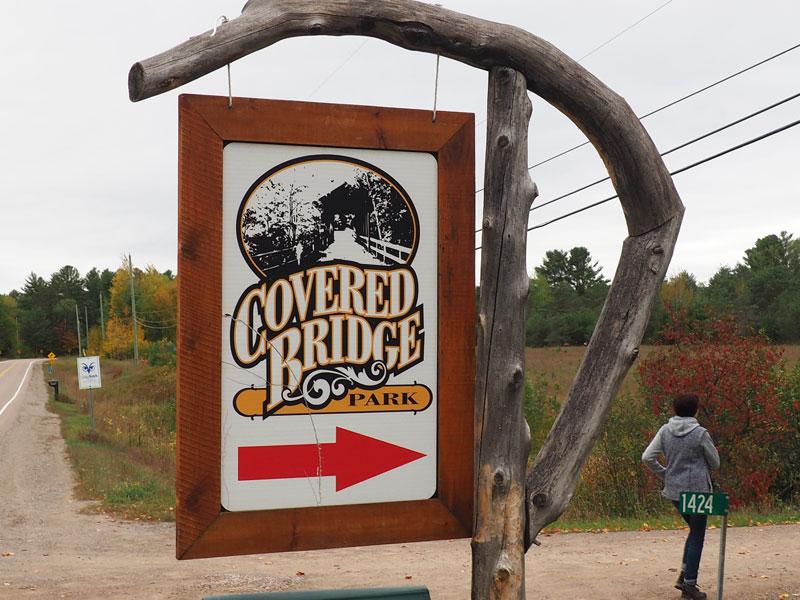Bild 14 Wanderung um den Covered Bridge Campground