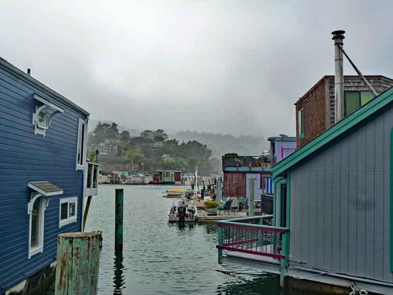 Bild 24 In der Hausbootsiedlung in Sausalito