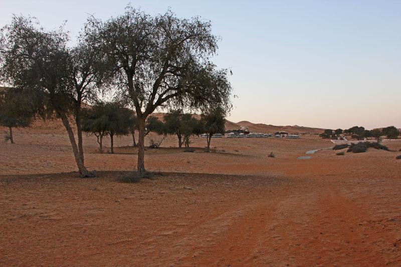 Bild 14 Blick auf die Anlage 1000 nights camp