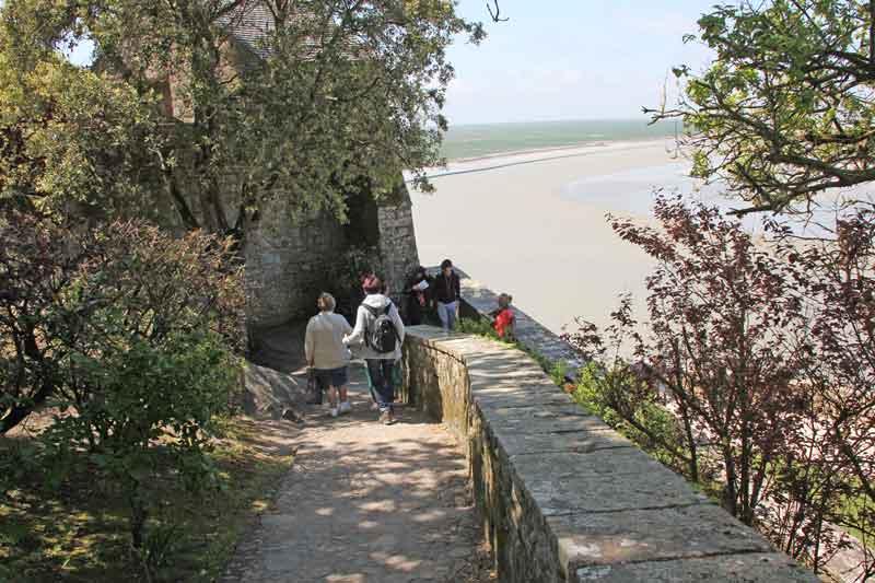 Bild 43 Auf dem Weg nach unten nach der Besichtigung der Abtei