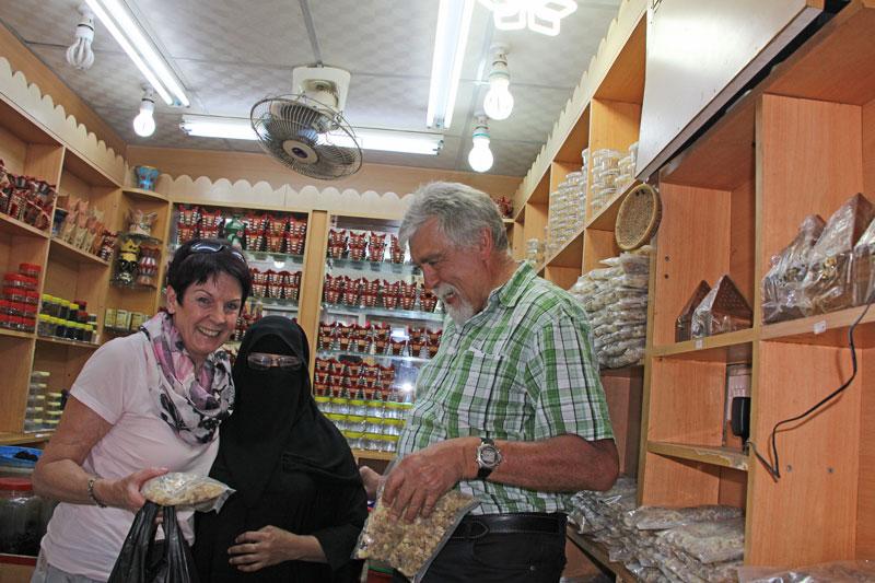 Bild 4 Wir kaufen ein im Weihrauchsouk in Salalah