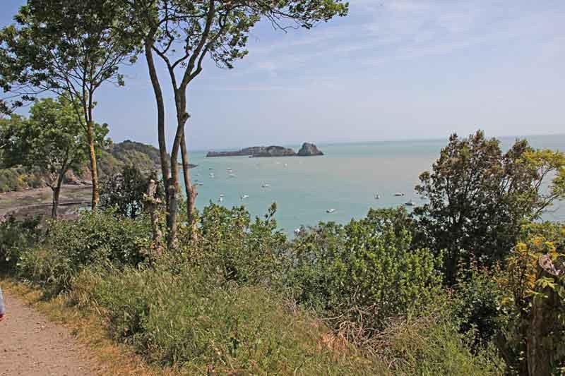 Bild 14 Blick auf die Küste bei Cancale
