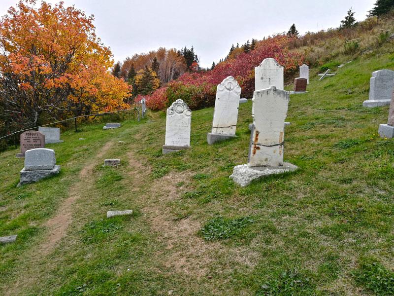 Bild 14 Ein indianischer Friedhof, warum ist der hier so abgelegen?