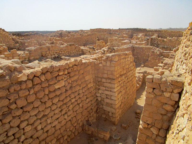 Bild 13 Blick auf die Ausgrabungen in Samhuram (Khor Rori)