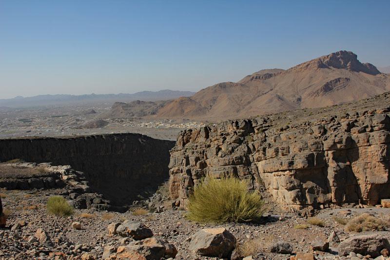 Bild 4 Blick ins Tal auf dem Weg nach unten
