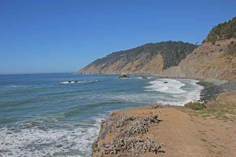 Bild 10 Wieder zurück an der Pazific Küste