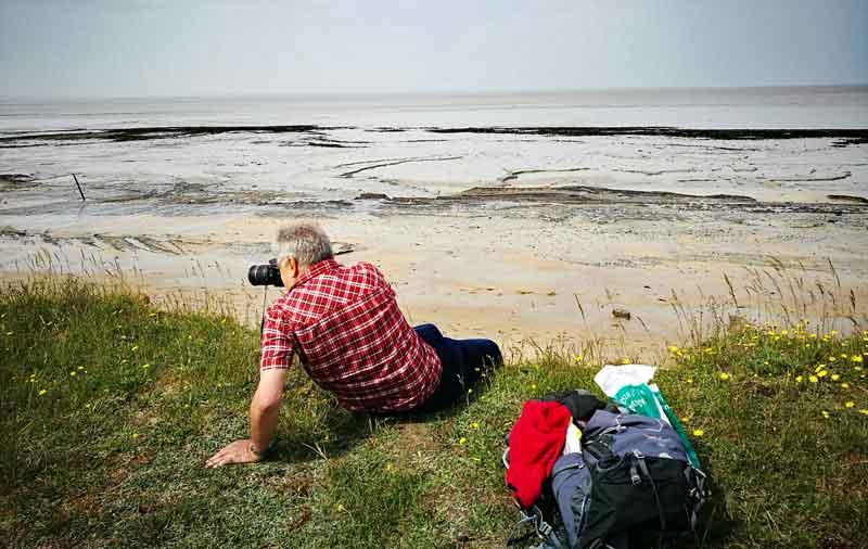 Bild 13 Am Strand von Dragey Ronthon