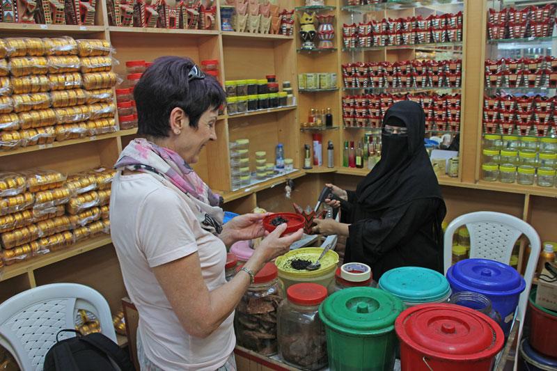 Bild 5 Wir kaufen ein im Weihrauchsouk in Salalah
