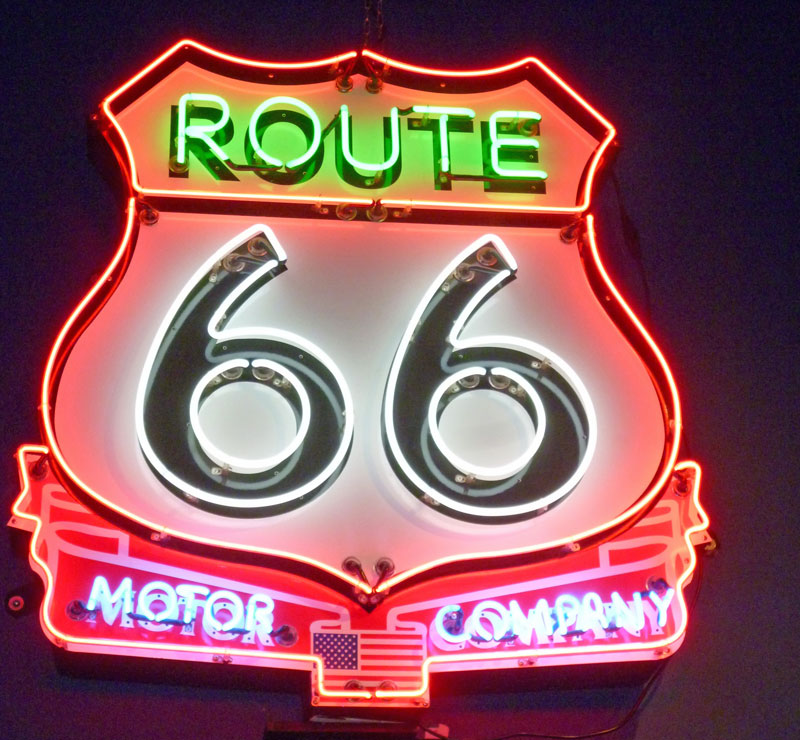 Bild 29 Route 66 Museum in Clinton Oklahoma