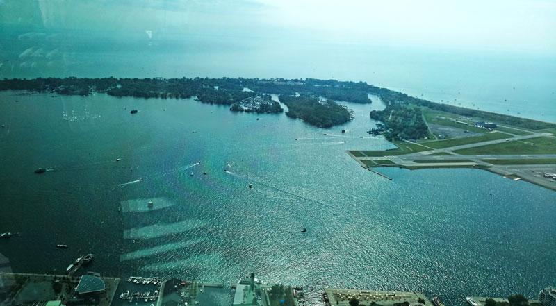 Bild 33 Blick vom CN Tower