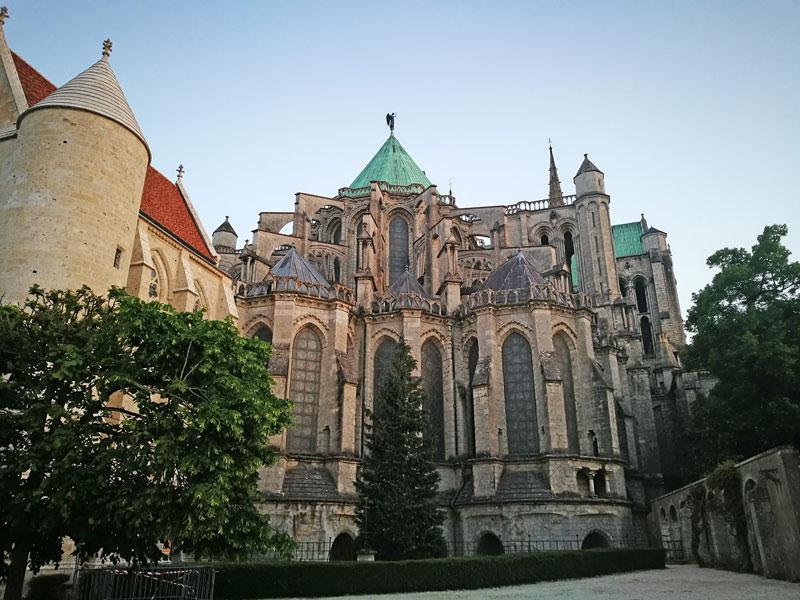 Bild 19 Unterwegs in Chartres