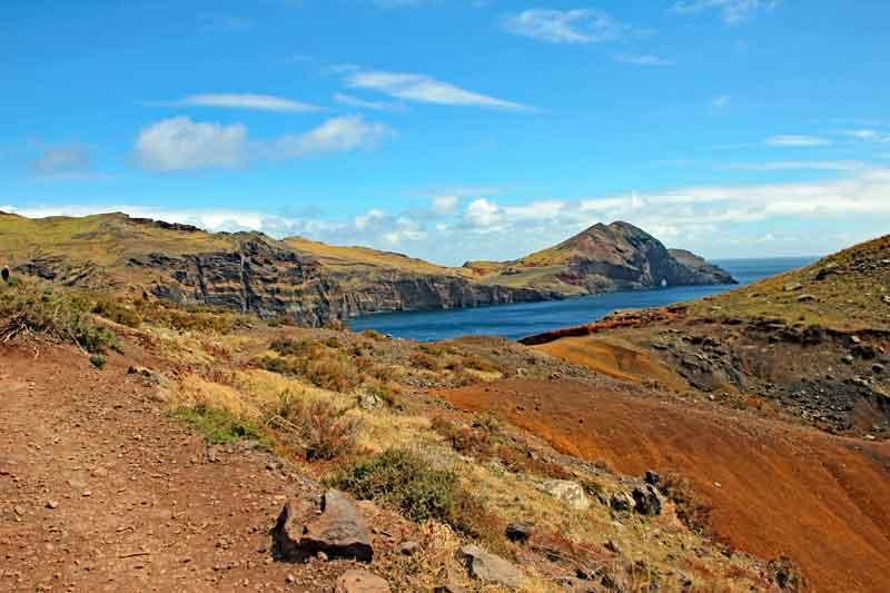 """Bild 11 Auf dem Weg zur östlichsten Spitze von Madeira dem """"Ponta de Sao Laurenco"""""""