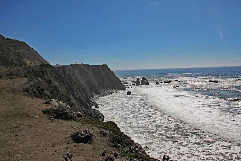 Bild 8 Wieder zurück an der Pazific Küste