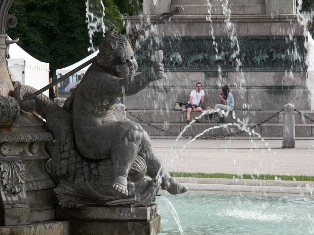 Stuttgarter Schlossplatz_Brunnen_Detail, Foto: Stuttgart Marketing GmbH