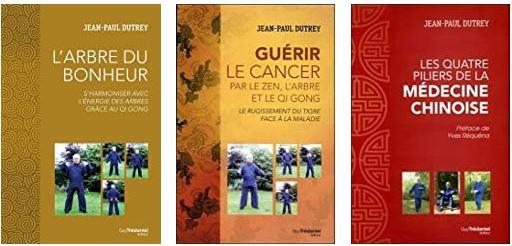 Livres de Jean-Paul Dutrey sur le Qi Gong parus chez Trédaniel.